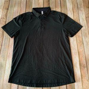 Lululemon men's short sleeve Polo shirt